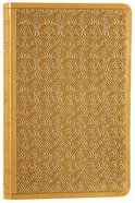ESV Premium Gift Bible Goldenrod Vine Design Imitation Leather