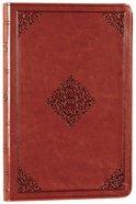 ESV Value Thinline Bible Tan Ornament Design (Black Letter Edition) Imitation Leather