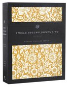ESV Single Column Journaling Bible Antique Floral (Black Letter Edition) Hardback