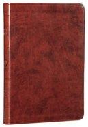 ESV Large Print Value Thinline Bible Chestnut (Black Letter Edition)