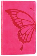 ESV Thinline Bible Trutone Butterfly Blush Red Letter Edition Imitation Leather