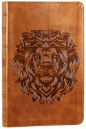 ESV Thinline Bible Trutone Royal Lion Red Letter Edition Imitation Leather