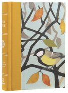 ESV Large Print Compact Bible Autumn Song Red Letter Edition Hardback