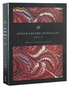 ESV Single Column Journaling Bible Classic Marbled (Black Letter Edition) Hardback