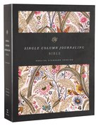 ESV Single Column Journaling Bible Summer Garden (Black Letter Edition) Hardback