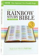 NIV Rainbow Study Bible (Black Letter Edition)