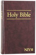 NIV Worship Bible Burgundy (Black Letter Edition)