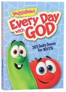 Every Day With God; 365 Daily Devos For Boys (Veggie Tales (Veggietales) Series)