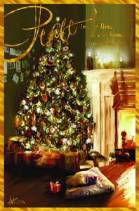 Christmas Premium Boxed Cards: Peace in Our Homes (John 14:27 Niv)