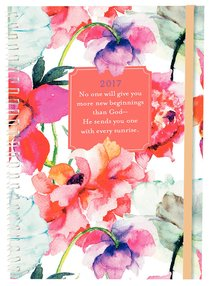 2017 16-Month Planner: Floral