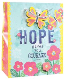 Gift Bag Medium: Hope, Matching Tissue Paper