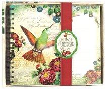 Deluxe Notepad Giftset: Hummingbird Journal & Listpad Giftset