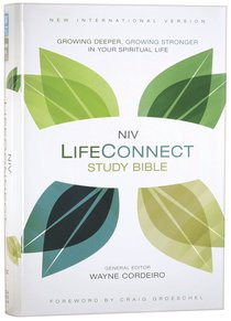 NIV Life Connect Study Bible (Red Letter Edition)