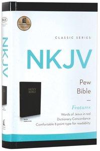 NKJV Pew Bible Black (Red Letter Edition)