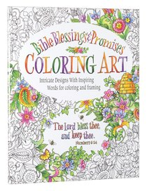Bible Blessings and Promises (Adult Coloring Books Series)