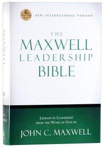 NIV Maxwell Leadership Bible