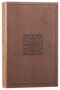 ESV Value Edition Bible Truflat Walnut Celtic Imprint (Black Letter Edition)