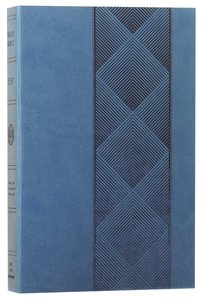 ESV Value Edition Bible Truflat Navy Diamondback (Black Letter Edition)