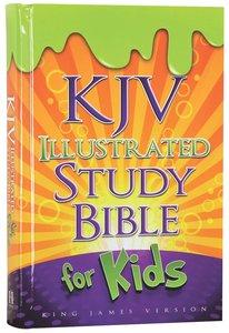 KJV Illustrated Study Bible For Kids (Orange)