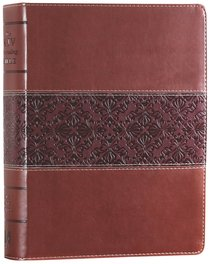KJV Wide Margin Personal Notes Bible Brown Tan (Red Letter Edition)
