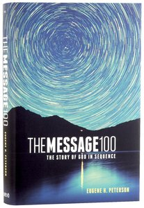 Message 100 Devotional Bible (Black Letter Edition)