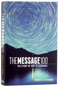 Message 100 Devotional Bible (Black Letter Edition)