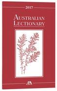 2017 Australian Lectionary An Australian Prayer Book (Year A)