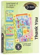 Boxed Cards Thank You: Bright Colors Box