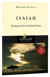 Isaiah (Lifeguide Bible Study Series)