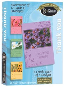 Boxed Cards Thank You: Floral
