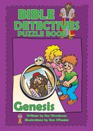Genesis (Puzzle Book) (Bible Detectives Series) Paperback