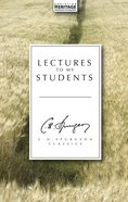 Lectures to My Students (Ch Spurgeon Signature Classics Series) Hardback