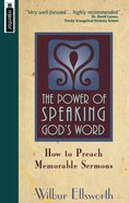 The Power of Speaking God's Word Paperback