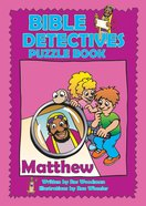 Matthew (Puzzle Book) (Bible Detectives Series) Paperback