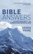 Bible Answers to Questions About the Christian Faith & Life Mass Market