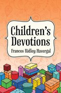 Children's Devotions Paperback