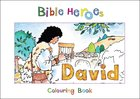 David (Bible Heroes Coloring Book Series)