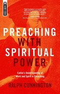 Preaching With Spiritual Power Paperback