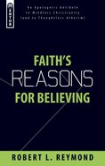 Faith's Reasons For Believing Pb Large Format