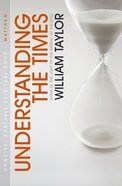 Understanding the Times Paperback