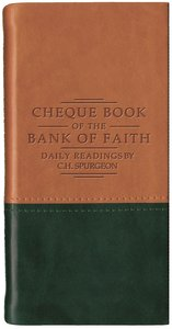 Cheque Book of the Bank of Faith (Tan/Green) (Christian Heritage Series)