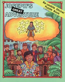 Josephs Great Adventure Sticker Puzzle Book