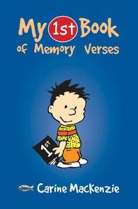 My 1st Book of Memory Verses (My 1st Book Series)