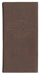 Cheque Book of the Bank of Faith (Burgundy)