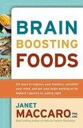 Brain Boosting Foods Paperback