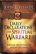 Daily Declarations For Spiritual Warfare Hardback