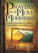 Prayers That Move Mountains Paperback