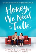 Honey, We Need to Talk Paperback