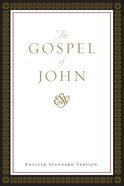 ESV Gospel of John (Black Letter Edition) Paperback