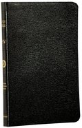 ESV Thinline Black Black Letter Genuine Leather